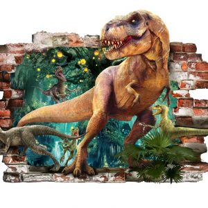 Dinozauro lipdukai Dinosaur Wall Sticker