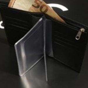 Dokumentų dėklas su piniginę ir vieta kortelėm