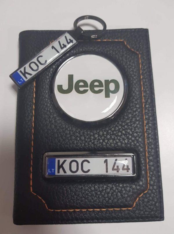 deklas dokumentams-jeep