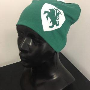 Žalia unisex (moteriška, vyriška) kepurė herbas