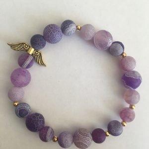 Violetinė apyrankė (unisex)