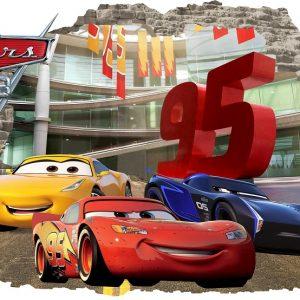3D Sienų lipdukai Cars berniukmas