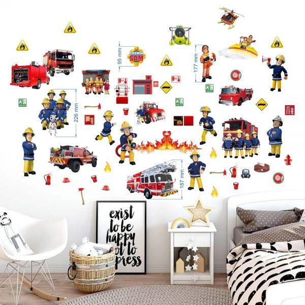 fireman wall
