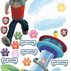"""""""Paw patrol komanda"""" 3D vaikų kambario sienų lipdukai"""