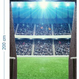 """""""Durų lipdukas stadionas"""" 3D vaikų kambario sienų lipdukai"""