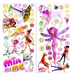 """""""Mia and me"""" 3D vaikų kambario sienų lipdukai"""
