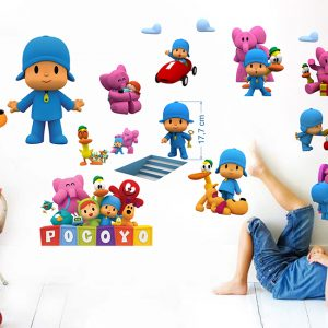 """""""Pocoyo"""" 3D vaikų kambario sienų lipdukai"""
