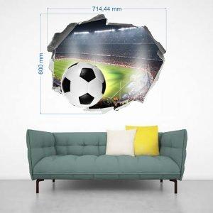 """""""Football"""" 3D vaikų kambario sienų lipdukai"""
