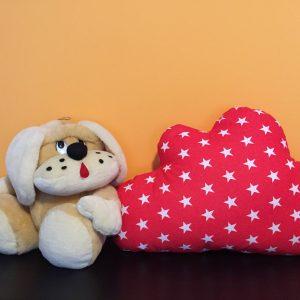 Komplektas vaikams debesėlis ir žvaigždutė pagalvės, travel pagalvėlė