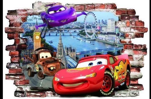 Sienu lipdukas Cars 3
